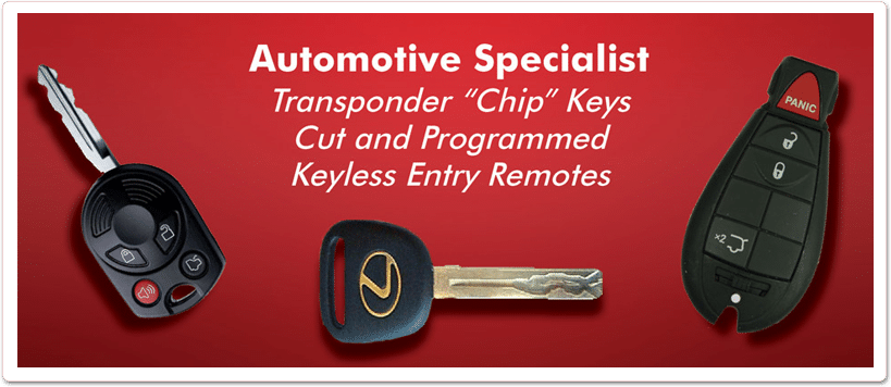 Mercury Replacement Car Keys